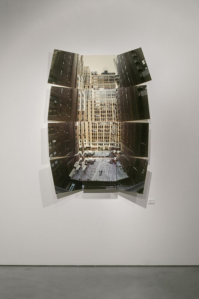 no. 1: The Stage, 2005, mixed media, 60 x 90 x 10""