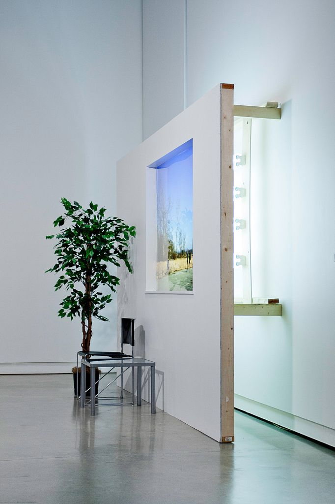 Transient Architectures for New Tomorrows no. 6: Three Constructs [version 1]; installation view, Surrey Art Gallery, 2008