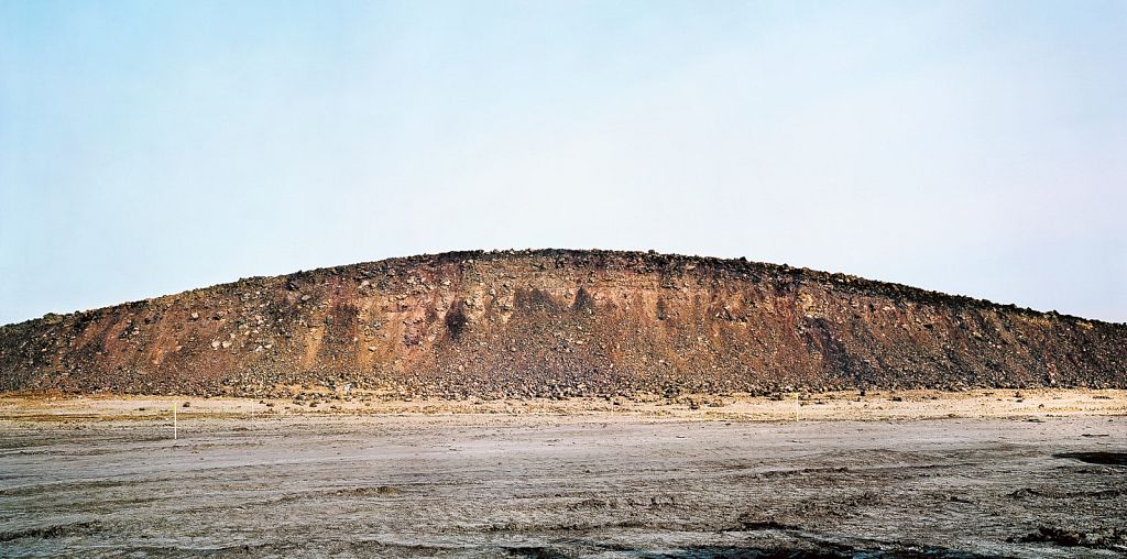 """Demarkation 3, a.k.a. Topsoil (3 Stories) (West), 2007/2009, giclée on photo rag ultrasmooth, 60.5 x 30"""""""