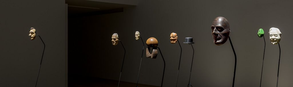Simon Starling, Project for a Masquerade (Hiroshima), 2010-11; installed Rennie Collection 2017